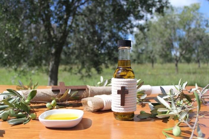 Natural Christening Handmade Package